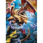 Puzzle  Eurographics-6000-5475 Anne Stokes  - Dragon Clan