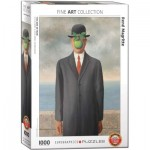Puzzle  Eurographics-6000-5478 René Magritte - Son of Man