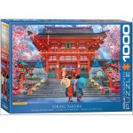 Puzzle  Eurographics-6000-5533 Spring Sakura