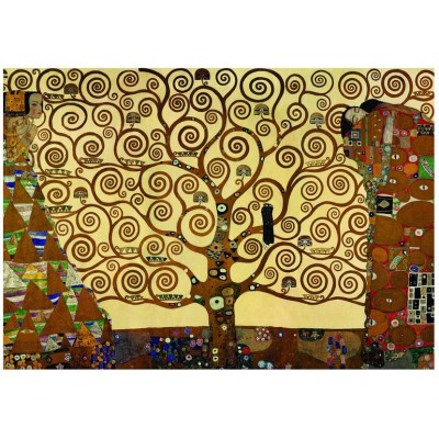 Eurographics-6000-6059 Jigsaw Puzzle - 1000 Pieces - Klimt : The Tree of Life