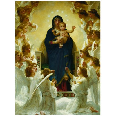 Puzzle Eurographics-6000-7064 William A. Bouguereau - Our Lady of the Angels