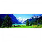 Puzzle  Eurographics-6005-1456 Canada: Lake Louise