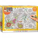 Puzzle  Eurographics-6033-0881 Color Me - Beautiful Garden