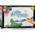 Puzzle  Eurographics-6033-0920 XXL Color Me - Van Gogh Vincent