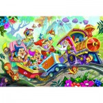 Puzzle  Eurographics-6035-0422 Snow White and the Seven Dwarfs