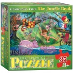 Puzzle  Eurographics-6035-0424 XXL Pieces - The Jungle Book