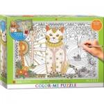Puzzle  Eurographics-6055-0888 XXL Color Me - Magical Cat