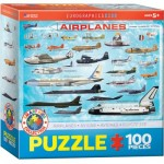 Puzzle  Eurographics-6100-0086 Airplanes