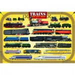Puzzle  Eurographics-6100-0090 Steam Locomotives