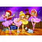 Puzzle  Eurographics-6100-0414 Go Girls Go! - Ballet