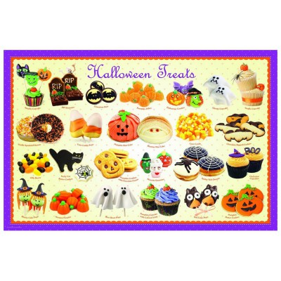 Puzzle Eurographics-6100-0432 Halloween Candy