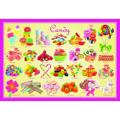 Puzzle Eurographics-6100-0521 Candy