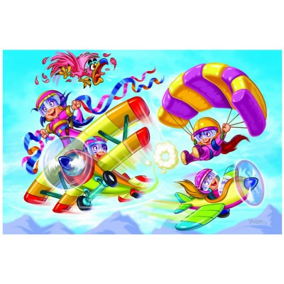 Puzzle Eurographics-6100-0523 Girl Power