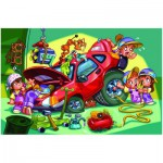 Puzzle  Eurographics-6100-0650 Girl Power
