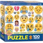 Eurographics-6100-0867 Emojipuzzle - Sadness