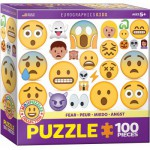 Eurographics-6100-0869 Emojipuzzle - Fear