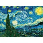 Puzzle  Eurographics-6100-1204 XXL Pieces - Van Gogh Vincent: Starry Night
