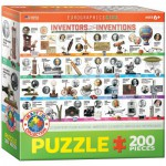 Puzzle  Eurographics-6200-0724 Great Inventions