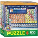 Puzzle  Eurographics-6200-0725 Illustrated Periodic Table of the Elements