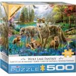 Puzzle  Eurographics-6500-5360 XXL Pieces - Wolf Lake Fantasy