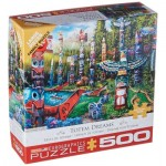 Puzzle  Eurographics-6500-5361 XXL Pieces - Totem Dreams