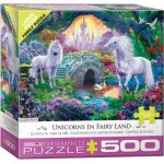 Puzzle  Eurographics-6500-5363 XXL Pieces - Unicorn Fairy Land