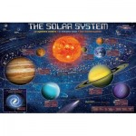Puzzle  Eurographics-6500-5369 XXL Pieces - The Solar System Illustrated