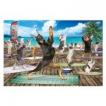 Puzzle  Eurographics-6500-5454 XXL Pieces - Yoga Spa
