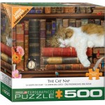 Puzzle  Eurographics-6500-5545 XXL Pieces - The Cat Nap