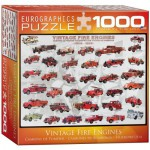 Puzzle  Eurographics-8000-0239 Vintage Fire Engines