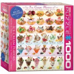 Puzzle  Eurographics-8000-0590 Ice Cream Flavours