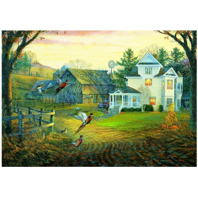 Puzzle Eurographics-8000-0605 Sam Timm: Pheasants Crossing