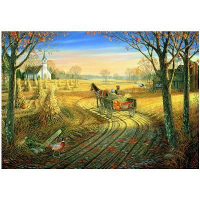 Puzzle Eurographics-8000-0606 Sam Timm: Harvest Time