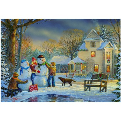 Puzzle Eurographics-8000-0607 Sam Timm: Snow Creations