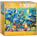 Puzzle  Eurographics-8000-0625 Howard Robinson: Colour Reef