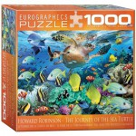 Puzzle  Eurographics-8000-0626 Howard Robinson: The Journey of the Sea Turtle