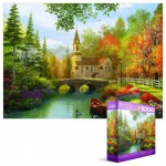 Puzzle  Eurographics-8000-0695 Dominic Davison: Autumn Church