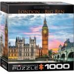 Puzzle  Eurographics-8000-0764 London Big Ben
