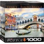 Puzzle  Eurographics-8000-0766 Venice - Rialto Bridge