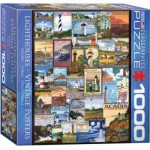 Puzzle  Eurographics-8000-0779 Lighthouses