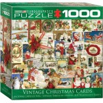 Puzzle  Eurographics-8000-0784 Vintage Christmas Cards