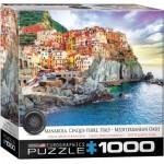 Puzzle  Eurographics-8000-0786 Manarola Cinque Terre Italy