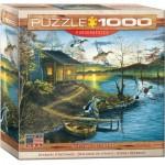 Puzzle  Eurographics-8000-0862 Abraham Hunter - Autumn Retreat