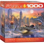 Puzzle  Eurographics-8000-0915 Dominic Davison - Christmas Eve in New York City