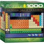 Puzzle  Eurographics-8000-1001 The Periodic Table of the Elements