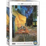 Puzzle  Eurographics-8000-2143 Van Gogh Vincent - Café Terrace at Night
