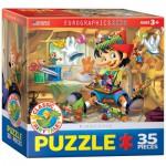Puzzle  Eurographics-8035-0421 Pinocchio
