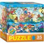 Puzzle  Eurographics-8035-0423 The Three Little Pigs