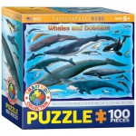Puzzle  Eurographics-8100-0082 Whales and Dolphins