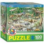 Puzzle  Eurographics-8100-0098 Dinosaurs